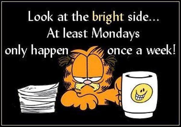 Monday Monday...